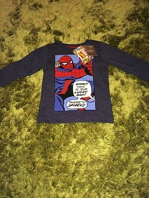 Next Baby Boy 6-9 Months Spider-Man T-Shirt