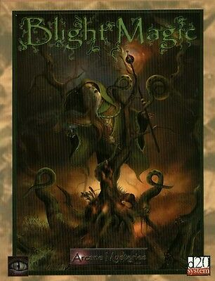 D20 Blight Magic MYG 201 Source Book D&D RPG Arcane Mysteries