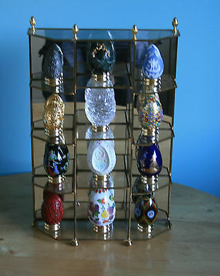 Franklin Mint The Treasury Of Eggs Collection And Stand