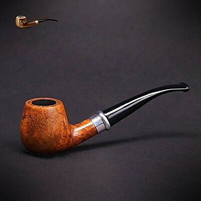 "Mr. Brog WOODEN TOBACCO SMOKING PIPE BRUYERE  no 85 "" Schmidt ""  Walnut  Briar"