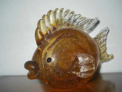 Lenox Glass Fish Figurine In Excellant Condition