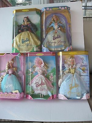 Barbie Children's Collection Series Dolls Lot of 5 Rapunzel- Bo Peep-More New