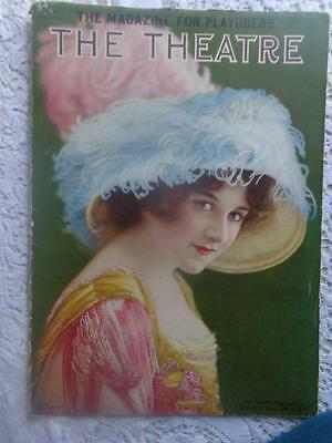 Antique July 1910  The Theatre Magazine for Playgoers Lillian Lorraine PT Barnum