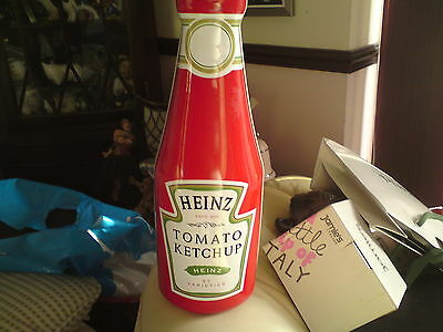Heinz Tomato Ketchup Collectors Tin, EMPTY, FREE-MAILING.29.2 CMS APPROX..