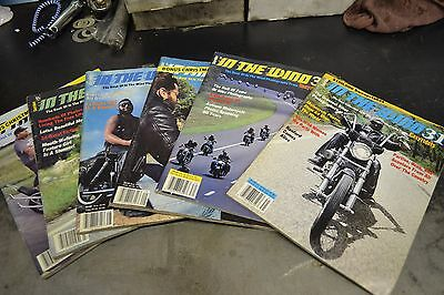 In the Wind Issues 25, 27-31 by Easyrider Magazine Fall 1986-Spring 1988