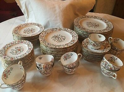 Spode Copeland Shanghai Service For 12 Plates Excellent English China 130 Pieces