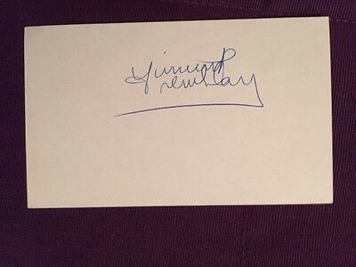 Vincent Tremblay Leafs RARE Hockey Vintage Signed Index Card