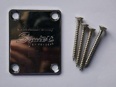 20TH ANNIVERSARY NECK PLATE! Fender Squier Affinity Series Stratocaster w/Screws