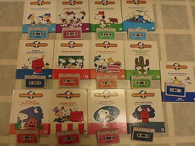 World of wonder- The Talking Snoopy- Complete set 13 Books and Tapes