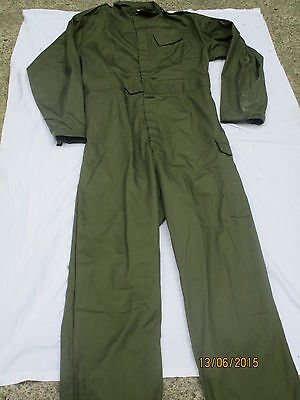 Coverall Mens olive, Arbeits Kombi, Overall , Gr. 190/116 (XL)