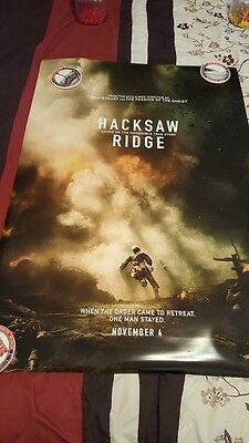 Hacksaw Ridge  One Sheet