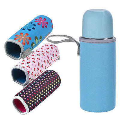 Portable Warm Heat Insulation 500ML Water Bottle Bags Thermos Neoprene Cup Bag