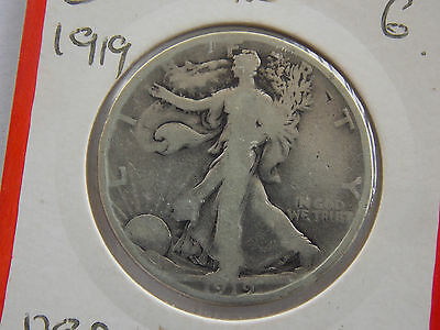 coins US.1/2.DOLLAR.1919.SILVER