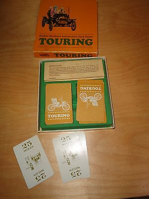 Touring - Parker Brothers Automobile Card Game