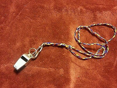 024 Vintage Noble Whistle and Anchor Clip on a Strap No Ball Japan Made