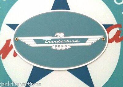 FORD THUNDERBIRD - Porcelain Coated Metal Sign