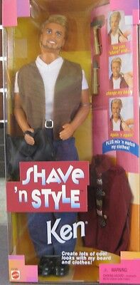 Barbie Ken Shave 'n Style **brand New Dated 1999 **