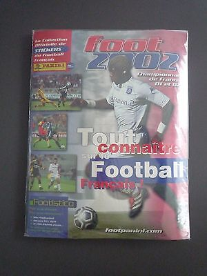 RARE Panini Foot 2002 - Album Vide Empty + Set Complet Blister Sealed mint NEUF
