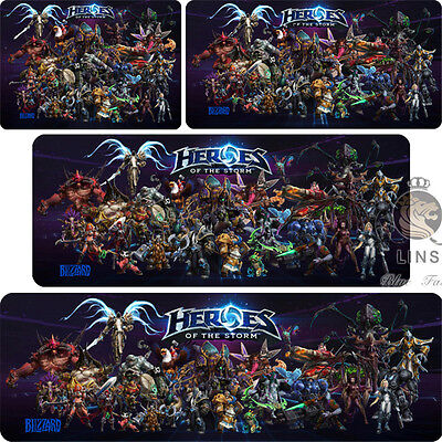 Heroes of the Storm PC Game All the heroes Mouse pad(Different sizes)
