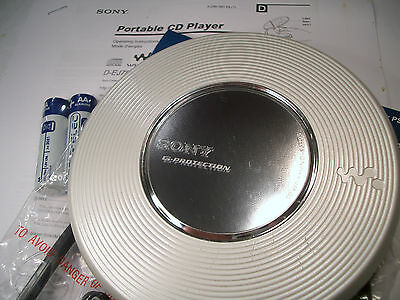 Sony D-EJ785 CD Walkman Discman Personal Stereo Music Compact Disc Player Silver