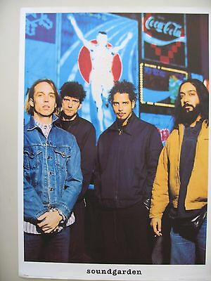 SOUNDGARDEN,PHOTO BY KEVIN WESTENBERG RARE AUTHENTIC 1990's POSTER