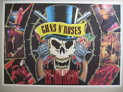 GUNS N' ROSES,USE YOUR ILLUSION,1990's POSTER