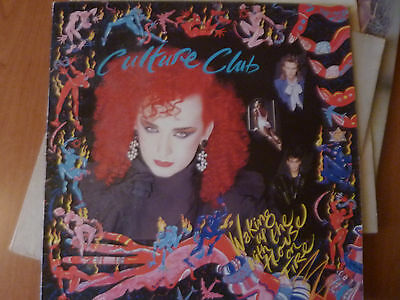 Culture Club - Walking up with the house on fire LP 33 giri vinile