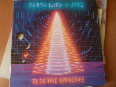 EARTH WIND+FIRE-ELECTRIC UNIVERSE LP 33 giri vinile