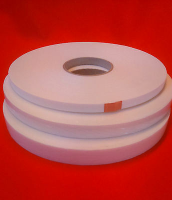Double Sided Foam Tape White & Black 1mm,2mm and 3mm in various widths