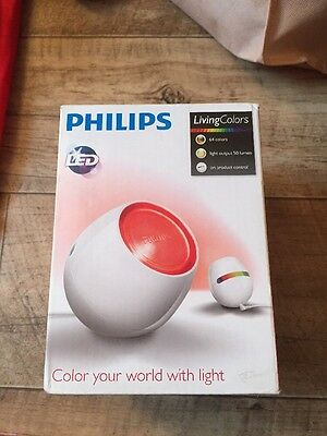 Philips LivingColors Micro White Table LED Colour Changing Mood Lamp