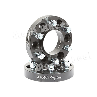 Wheel Spacer Adapters Black Anodised 20 mm 5x120 To 5x120 Hub Centric 2 PCS BMW