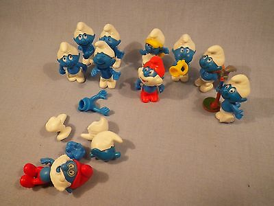 Kinder Surprise Smurfs Lot