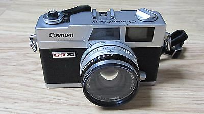 CANON QL G-III QL + 40mm F1.7 Film Camera