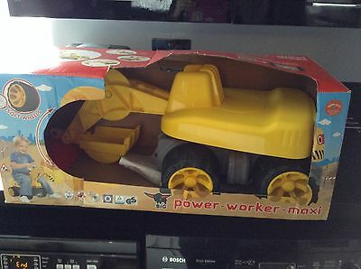 Big Power Worker Maxi Digger Ride On
