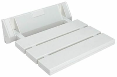 Fold Up Shower seat White