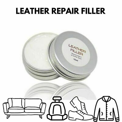 Leather & Vinyl Repair Filler Compound For restoring cracks burns cuts scuffs