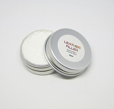 Leather Repair Filler paste used for restoring scuffs scratches cracks & holes