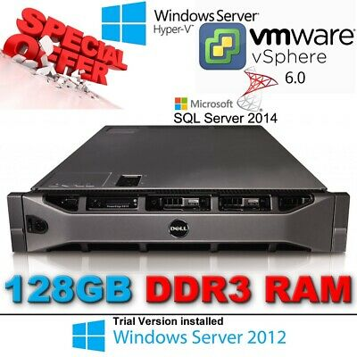 Dell PowerEdge R810 4x X7550 2.00Ghz 8-CORE 128GB RAM 3x300GB PERC H700 32-CORES
