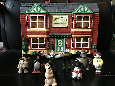 Wallace and Gromit Playhouse Playset with Figures