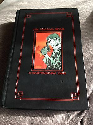 The Walking Dead Compendium Red Foil Edition Signed