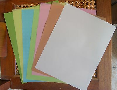 "3M Lapping Film Assortment 1 each of 30,12,9,5,3,1, & 0.3 micron 8.5"" x 11"""