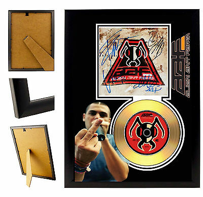 Alien Ant Farm  - A4 Signed Framed Gold Vinyl Collectors Cd Display Picture