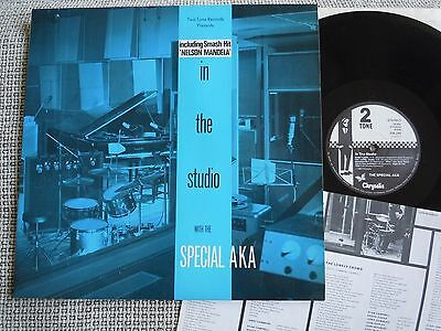 SPECIAL AKA In The Studio 2 TONE RECORDS LP 1984 + OIS