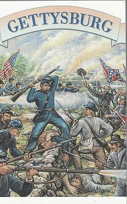 1995 Civil War #2975t Gettysburg FD Post Card