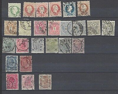 Early Austria stamps used