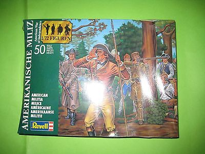 American Militia By Revell Figures 1/72 - Ref.2561