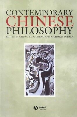 Contemporary Chinese Philosophy by Chung-ying Cheng Hardcover Book (English)