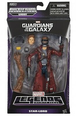 Guardians Of The Galaxy-Marvel Legends Infinite Series Wave 1 Star - Lord Figure