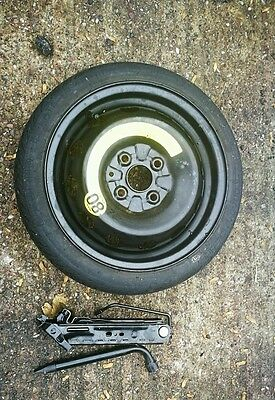 "Genuine 14""  Space Saver Spare Wheel For Vw Up 2010-2016 Free Jack And Spanner"