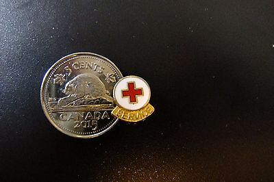 Canada Red Cross Service LAPEL PIN - Very Dainty